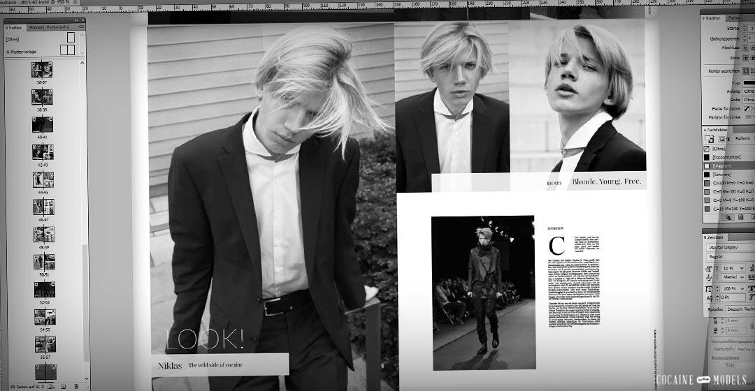 Prochainement : Cocaine Models Magazine