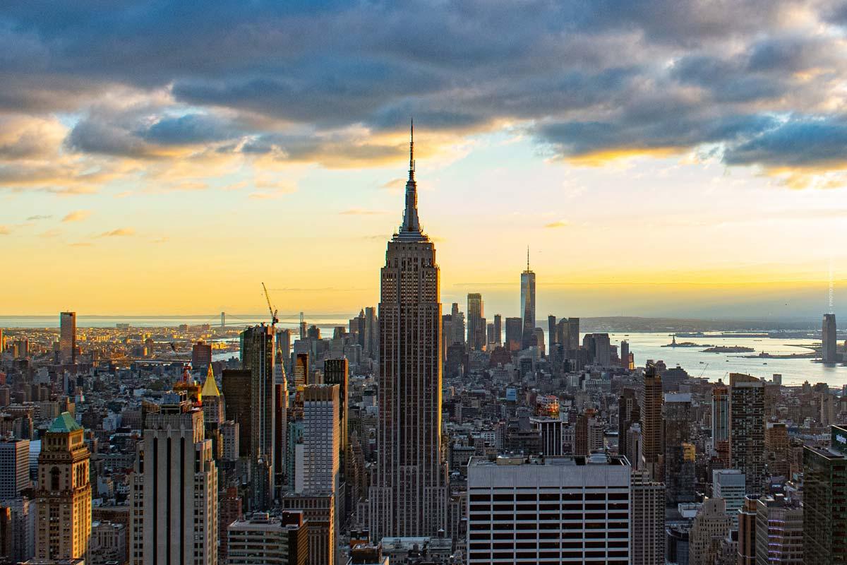 Ville de New York : le Bronx, Brooklyn, Manhattan, Queens et Staten Island